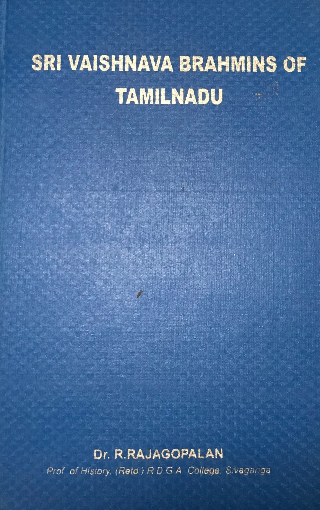 Sri Vaishnava Brahmins of Tamil Nadu