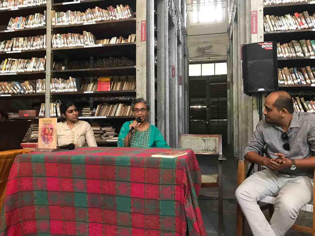 Dangling Gandhi – Author book readingsession